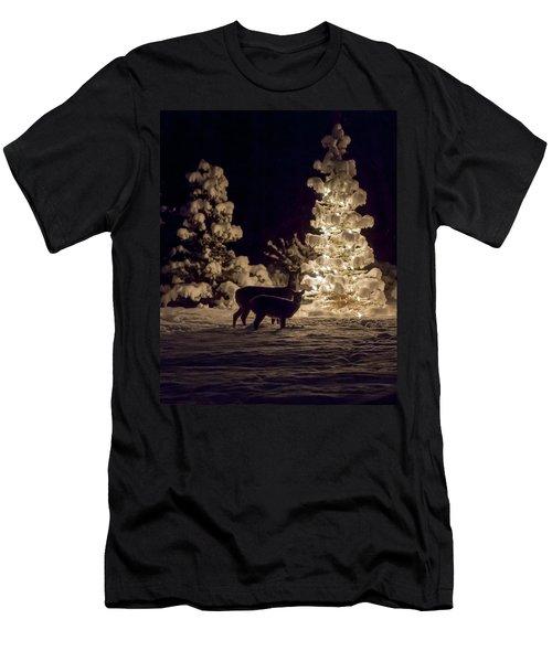 Cautious Men's T-Shirt (Athletic Fit)