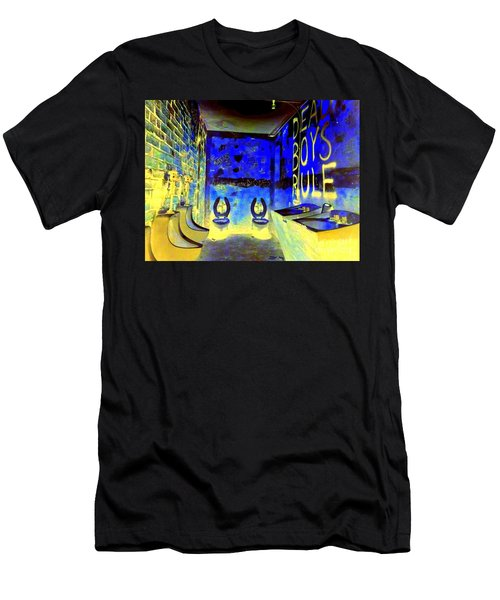 Cbgb's Notorious Mens Room Men's T-Shirt (Athletic Fit)