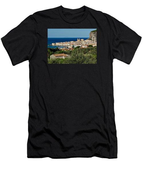 Cefalu Sicily Men's T-Shirt (Athletic Fit)