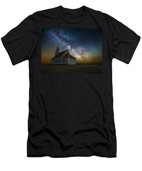 Men's T-Shirt (Athletic Fit) featuring the photograph Celestial by Aaron J Groen