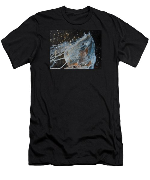 Celestial Stallion  Men's T-Shirt (Slim Fit) by Jani Freimann