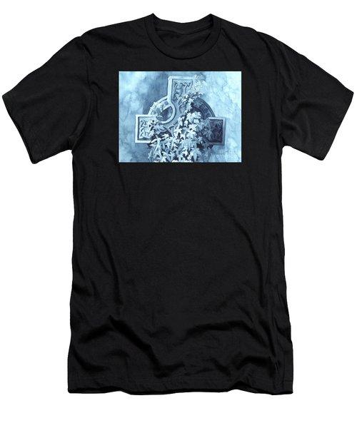 Celtic Cross Study Men's T-Shirt (Athletic Fit)