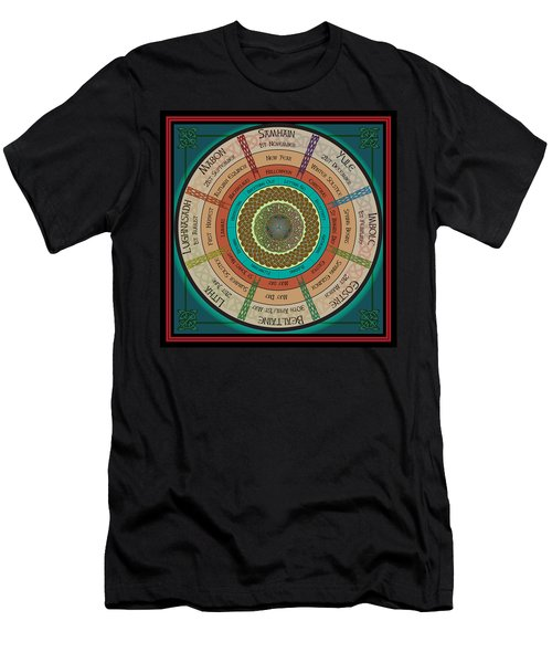 Celtic Festivals Men's T-Shirt (Slim Fit) by Ireland Calling