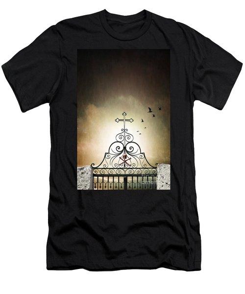 Cemetery Gate Men's T-Shirt (Athletic Fit)