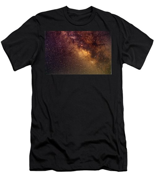 Center Of The Milky Way Men's T-Shirt (Athletic Fit)