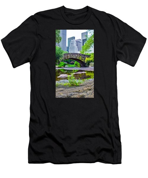 Central Park Nature Oasis Men's T-Shirt (Athletic Fit)