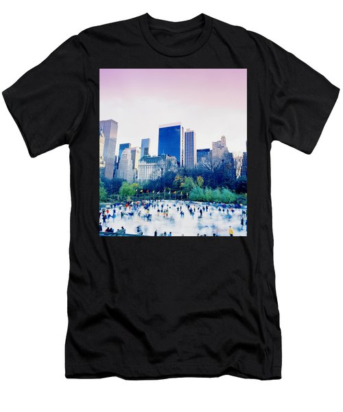 New York In Motion Men's T-Shirt (Slim Fit) by Shaun Higson