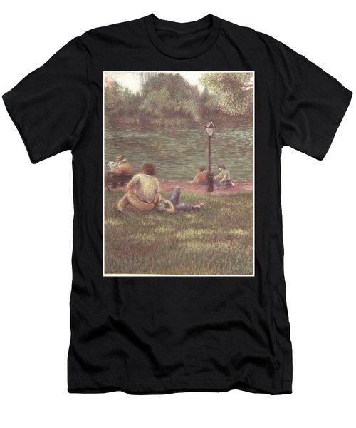 Central Park Nyc Men's T-Shirt (Athletic Fit)