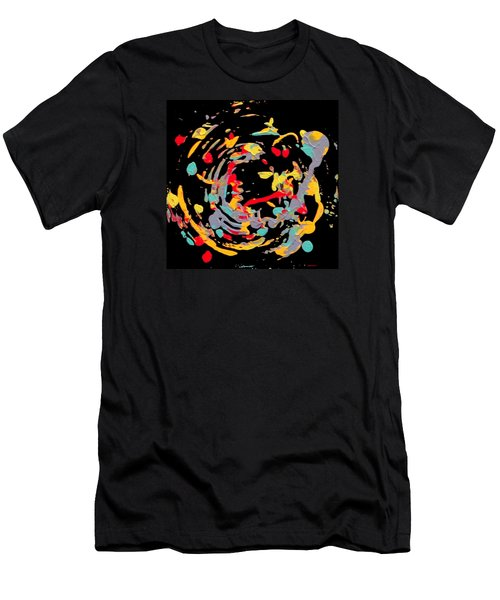 Centre Ring Men's T-Shirt (Athletic Fit)