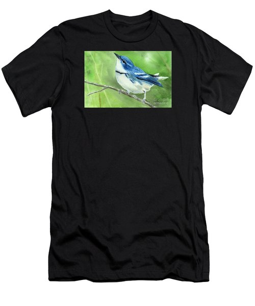 Cerulean Warbler Men's T-Shirt (Athletic Fit)