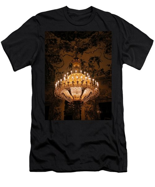 Chandelier Palacio Real Men's T-Shirt (Athletic Fit)