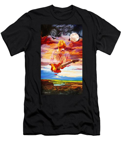 Channeling The Cosmic Goo At The Gorge Men's T-Shirt (Athletic Fit)