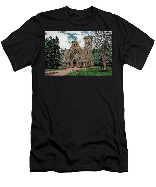 Chapel At University Of Virginia Men's T-Shirt (Athletic Fit)