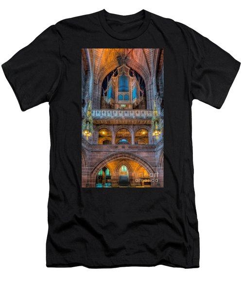 Chapel Organ Men's T-Shirt (Athletic Fit)