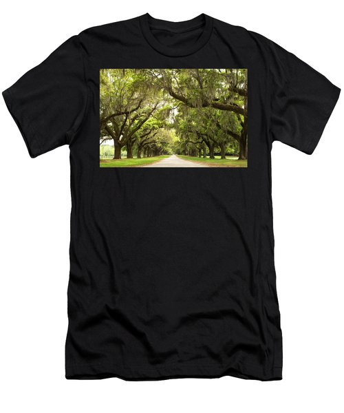 Charleston Avenue Of Oaks Men's T-Shirt (Athletic Fit)