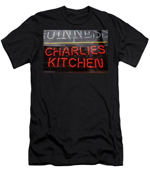Charlies Kitchen Men's T-Shirt (Athletic Fit)