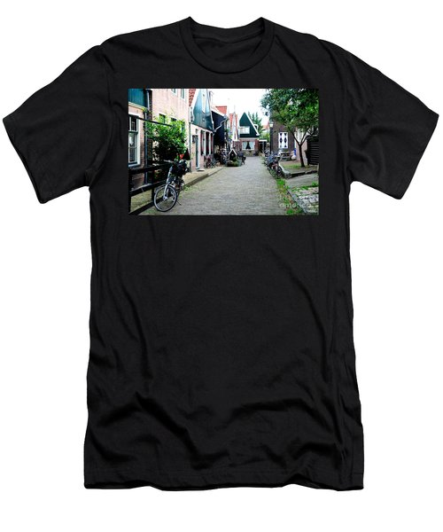 Men's T-Shirt (Slim Fit) featuring the photograph Charming Dutch Village by Joe  Ng