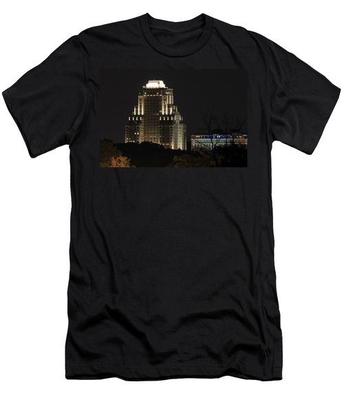 Chase Park Plaza From Art Hill Men's T-Shirt (Athletic Fit)