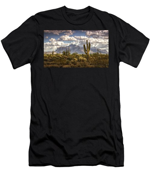 Chasing Clouds Two  Men's T-Shirt (Athletic Fit)