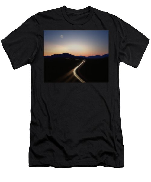 Chasing The Light Men's T-Shirt (Athletic Fit)