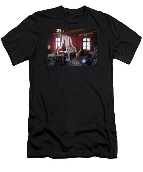 Chateau De Cormatin Men's T-Shirt (Slim Fit) by Travel Pics