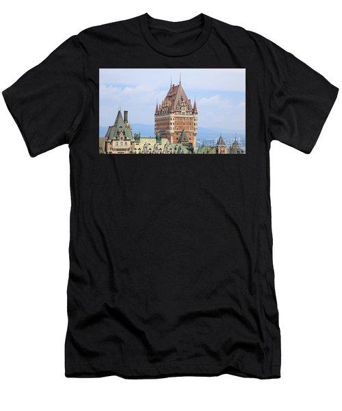 Chateau Frontenac Quebec City Canada Men's T-Shirt (Athletic Fit)