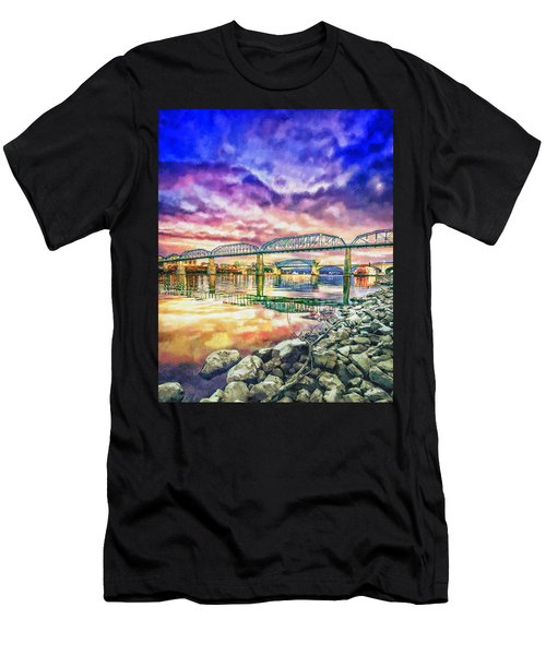 Chattanooga Reflection 1 Men's T-Shirt (Athletic Fit)