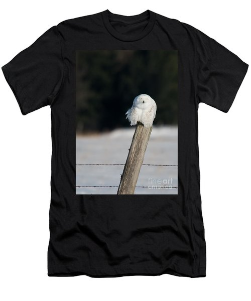Cheeky Snowy Men's T-Shirt (Athletic Fit)