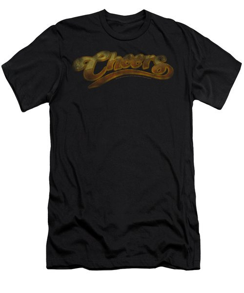 Cheers - Cheers Distressed Men's T-Shirt (Athletic Fit)