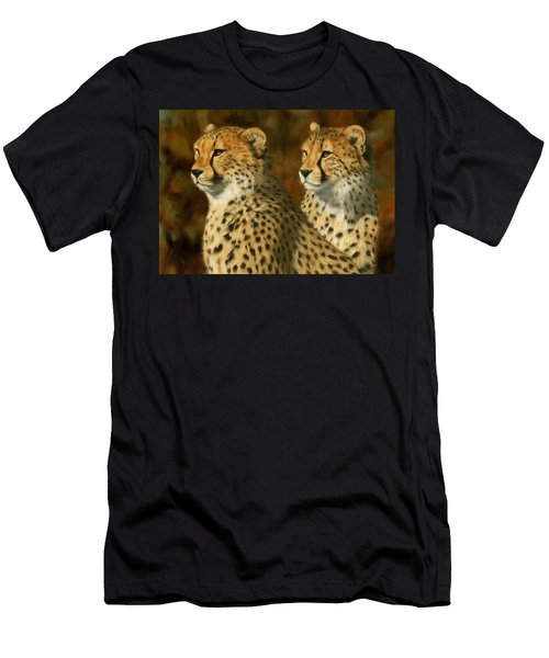 Cheetah Brothers Men's T-Shirt (Slim Fit)