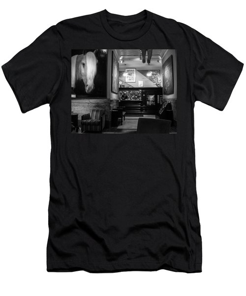 Chelsea Hotel Night Clerk Men's T-Shirt (Athletic Fit)