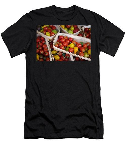Cherry Tomatos Men's T-Shirt (Athletic Fit)