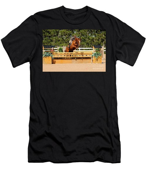 Chestnut Hunter Men's T-Shirt (Athletic Fit)