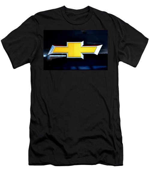 Chevy Bowtie Camaro Black Yellow Iphone Case Mancave Men's T-Shirt (Athletic Fit)