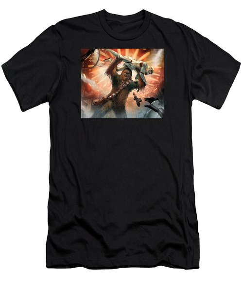 Chewbacca - Star Wars The Card Game Men's T-Shirt (Athletic Fit)