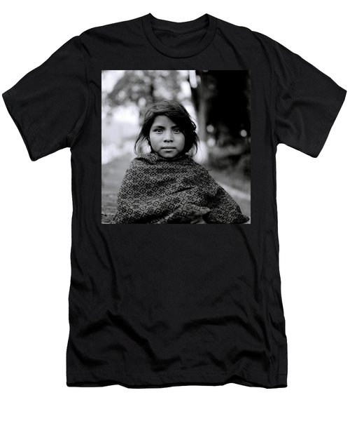 Chiapas Girl Men's T-Shirt (Athletic Fit)