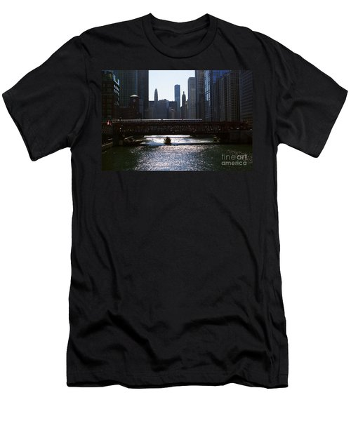 Chicago Morning Commute Men's T-Shirt (Athletic Fit)
