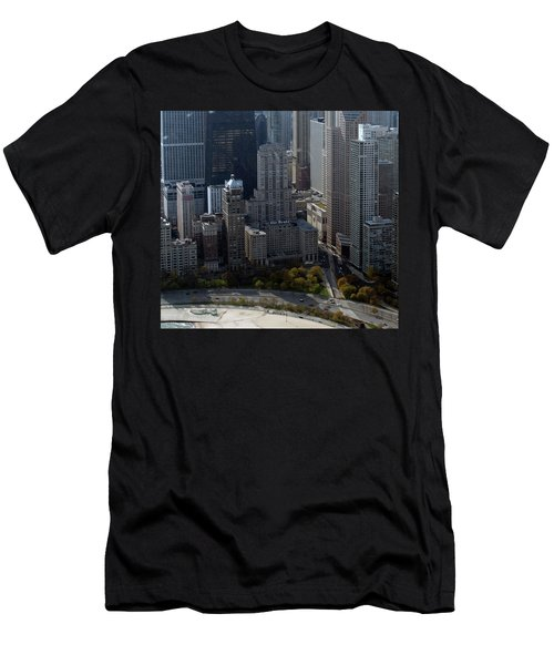 Chicago The Drake Men's T-Shirt (Slim Fit) by Thomas Woolworth