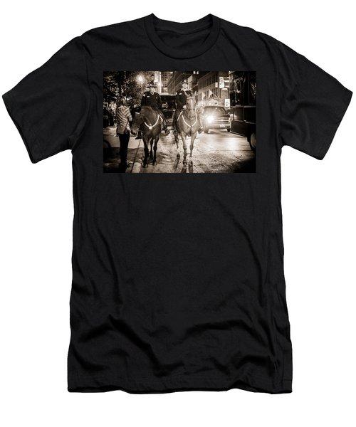 Chicago's Finest Men's T-Shirt (Slim Fit) by Melinda Ledsome