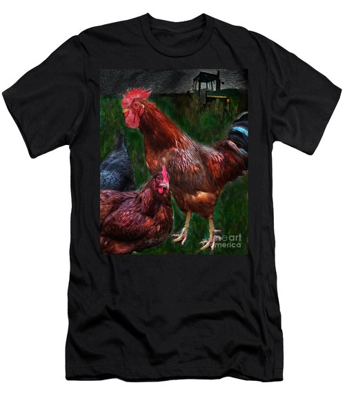 Chickens Men's T-Shirt (Athletic Fit)
