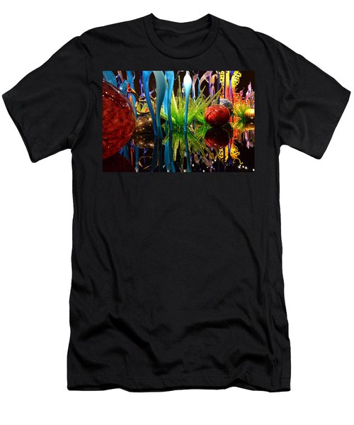 Chihuly-11 Men's T-Shirt (Slim Fit) by Dean Ferreira