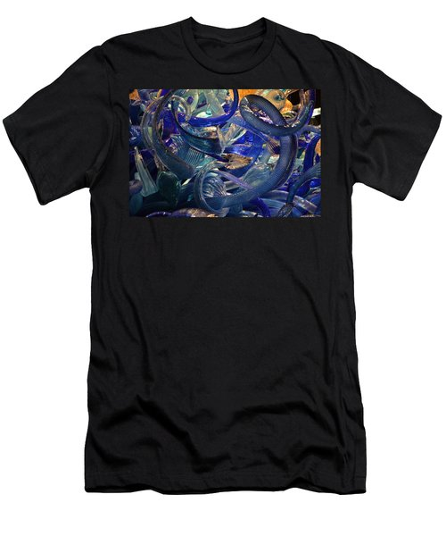Chihuly-2 Men's T-Shirt (Slim Fit) by Dean Ferreira