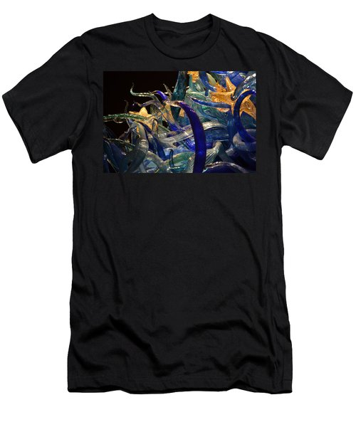 Chihuly-3 Men's T-Shirt (Slim Fit) by Dean Ferreira