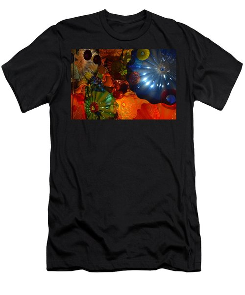 Chihuly-9 Men's T-Shirt (Slim Fit) by Dean Ferreira