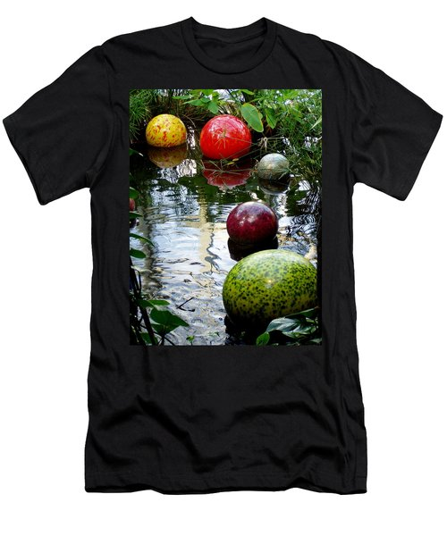 Chihuly Globes Men's T-Shirt (Athletic Fit)