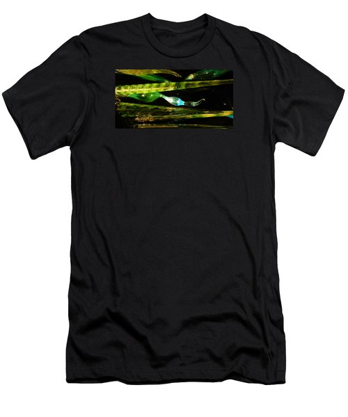 Chihuly Green In Denver Colorado Men's T-Shirt (Athletic Fit)