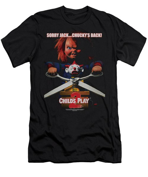 Childs Play 2 - Chuckys Back Men's T-Shirt (Athletic Fit)