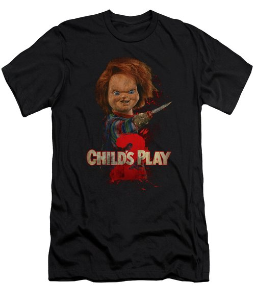 Childs Play 2 - Heres Chucky Men's T-Shirt (Athletic Fit)