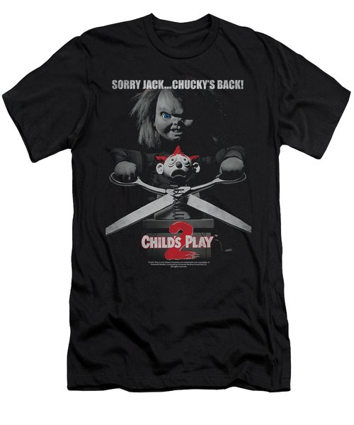 Child's Play 2 - Jack Poster Men's T-Shirt (Athletic Fit)