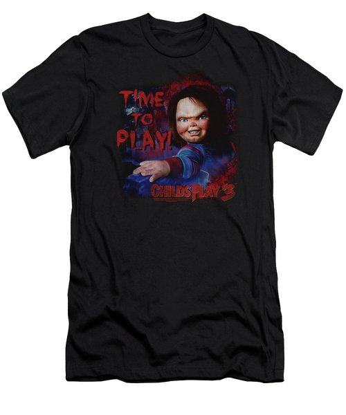 Childs Play 3 - Time To Play Men's T-Shirt (Athletic Fit)